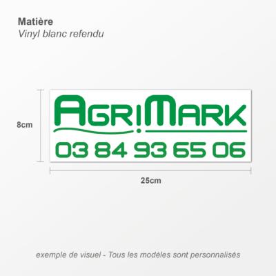 Logos personnalisés détails
