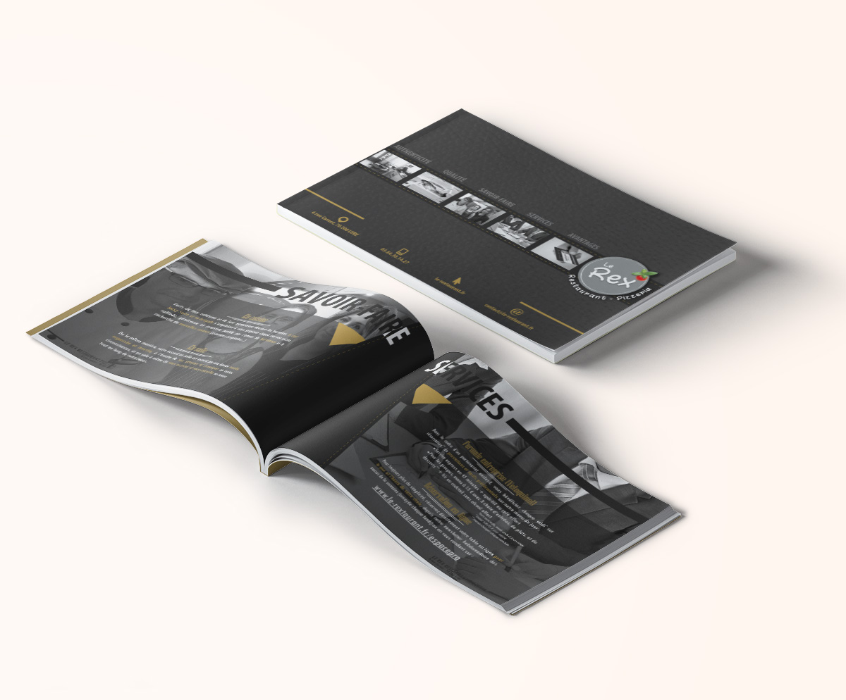 Brochure A4 horizontale