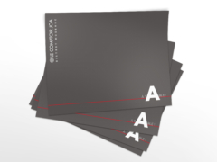 Set de table noir pour le Casino de Luxeuil